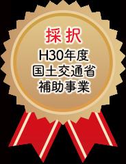 採択 H30年度国土交通省補助事業